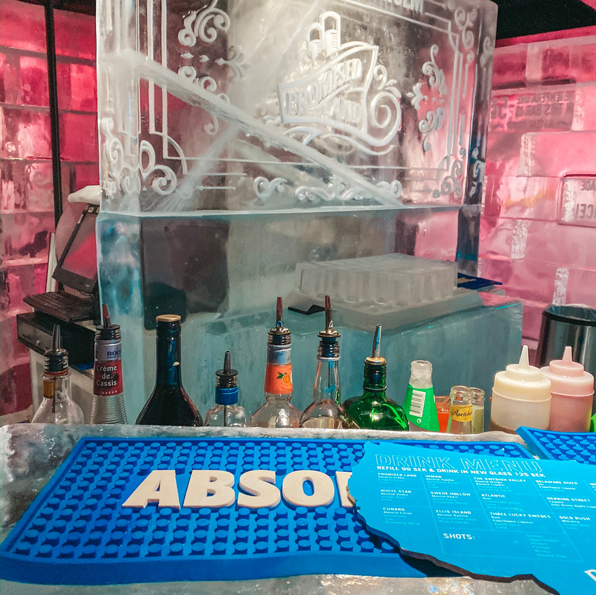 absolute ice bar in stockholm