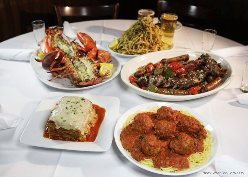 Italian food in New York City