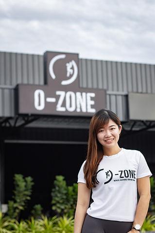 Yin Sinn, O-Zone Fitness Marketing Director