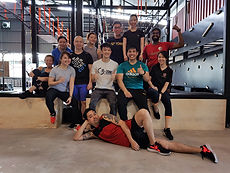 obstacle course group class for Tesco Group