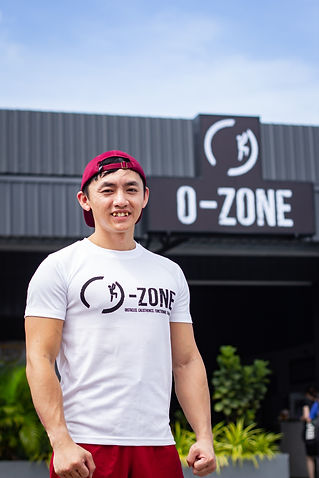 Luciffer Chong, O-Zone Fitness Calisthenics Head Coach