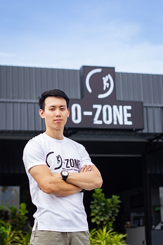 Chee Wai, O-Zone Fitness Managing Director