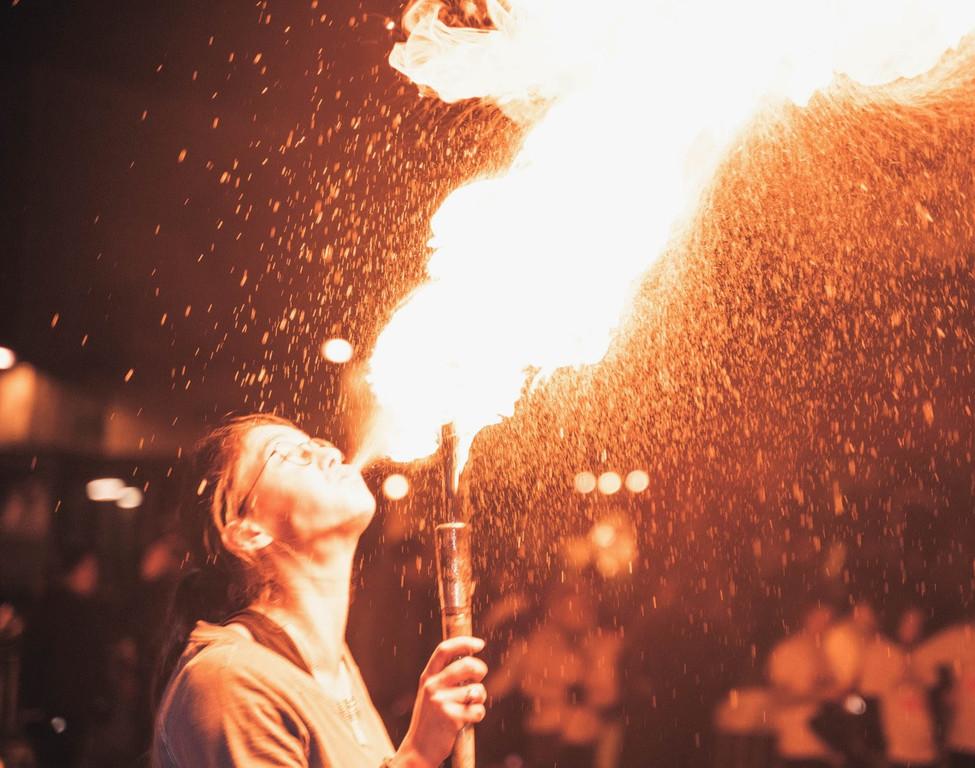 le spectacle feu du circokot