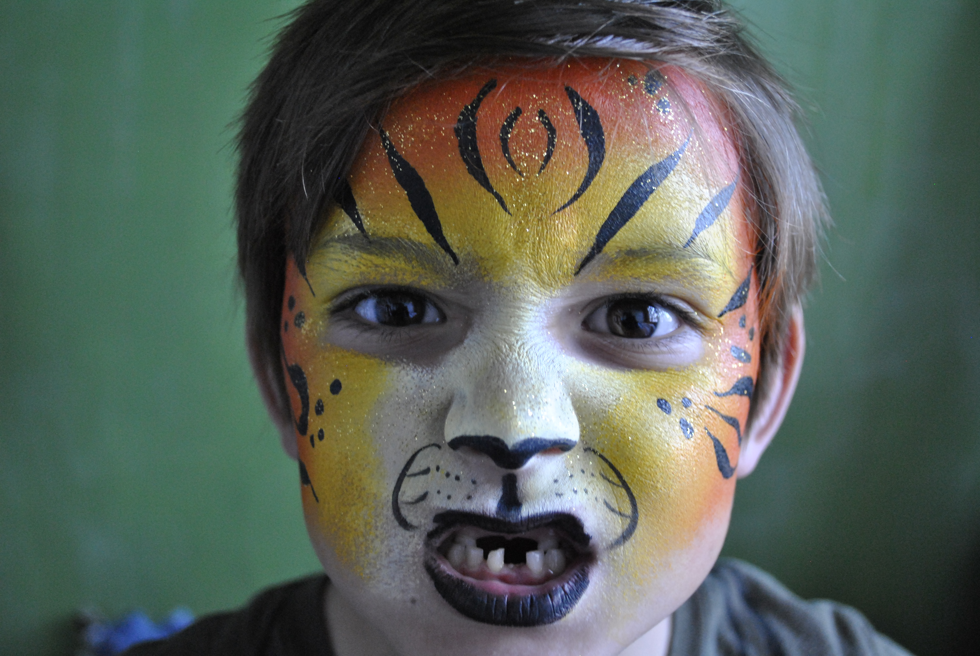 Tiger Face Painting oakland