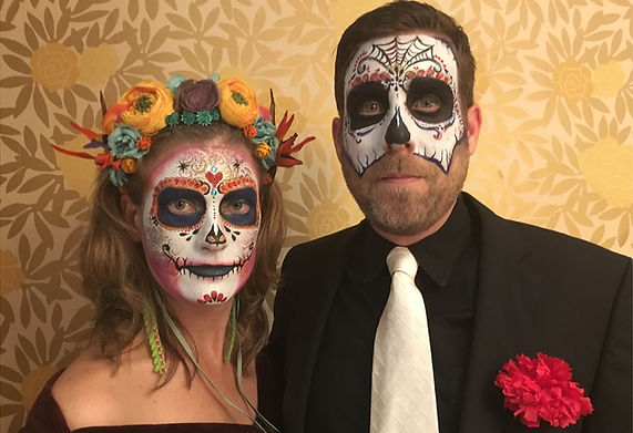 day of the dead face paint san francisco