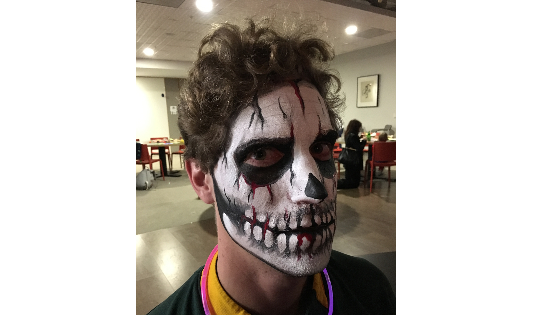 Skull Halloween Face Painting