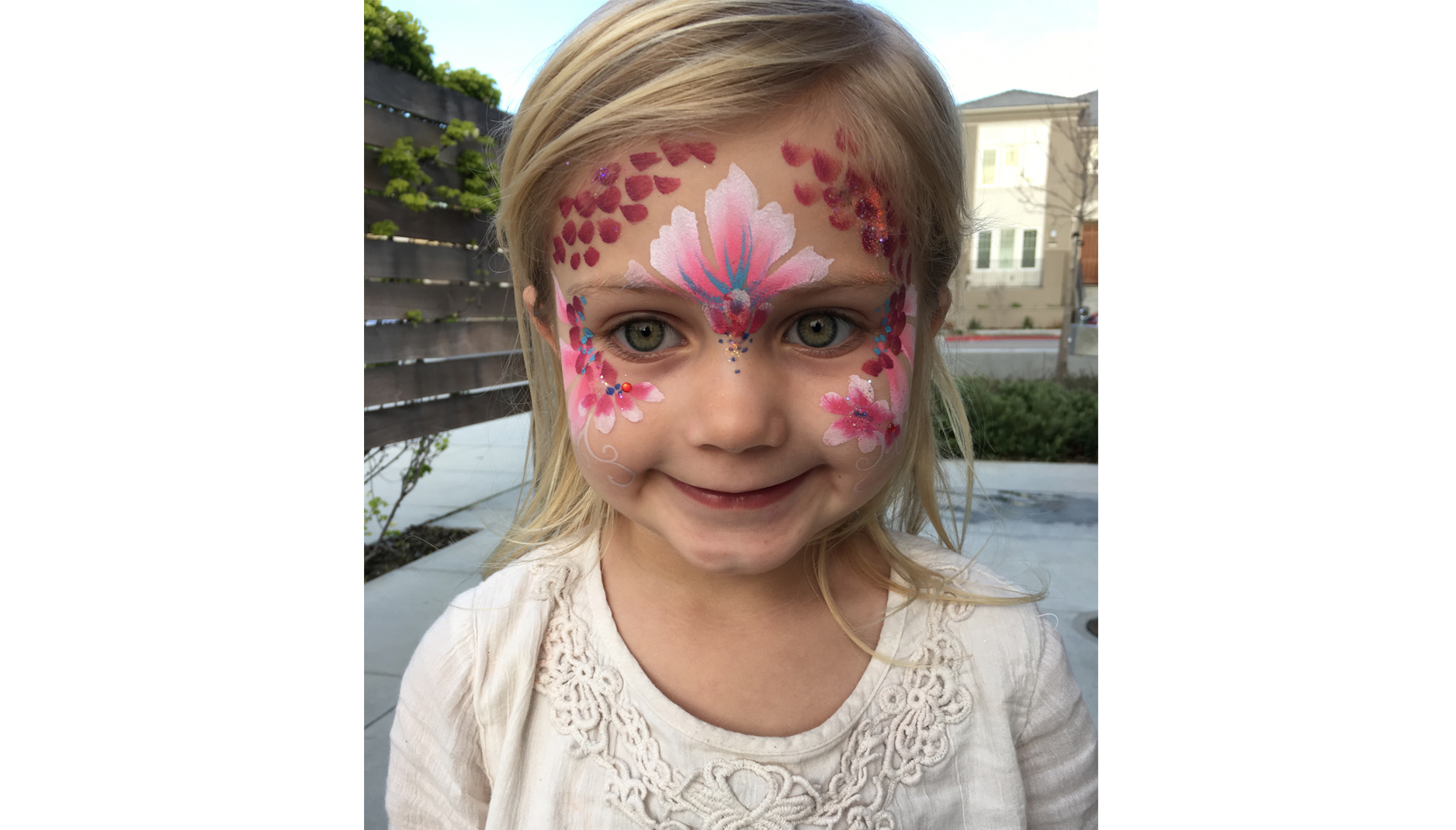 children's face painting SF