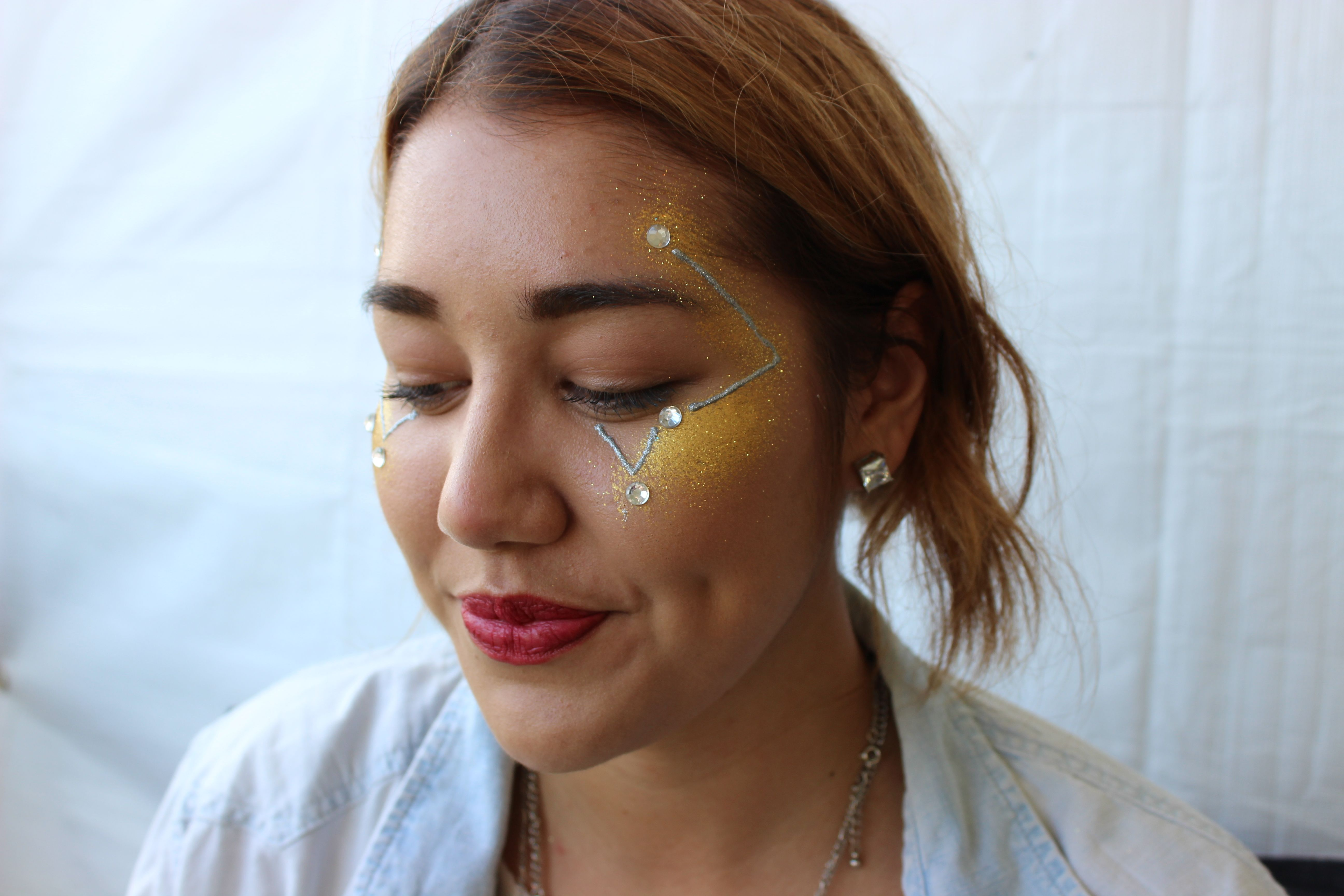 Outside Lands Festival face painting