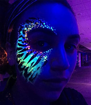 UV Face Painting Mountainvew