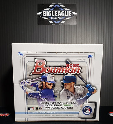 2020 Bowman Retail Display Box
