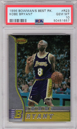 1996 Bowmans Best Kobe Bryant ROOKIE PSA 10