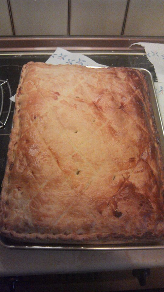 Tray Corned Beef Pie