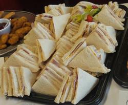 Gammon Ham & Peas Pudding Sandwich