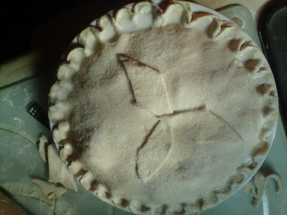 Freshly made Apple Pie