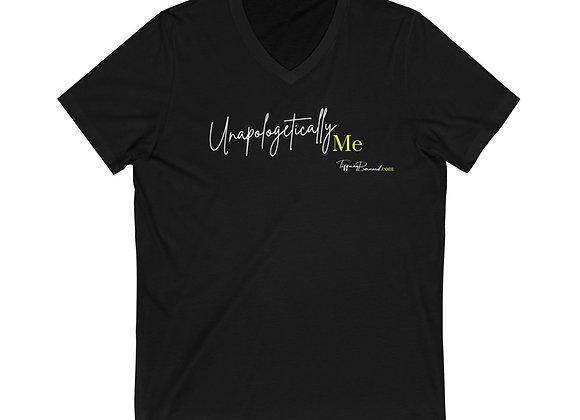 Unapologetically Me: Neon Yellow Edition V-Neck (Unisex)