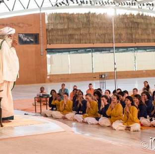 with Sadhguru