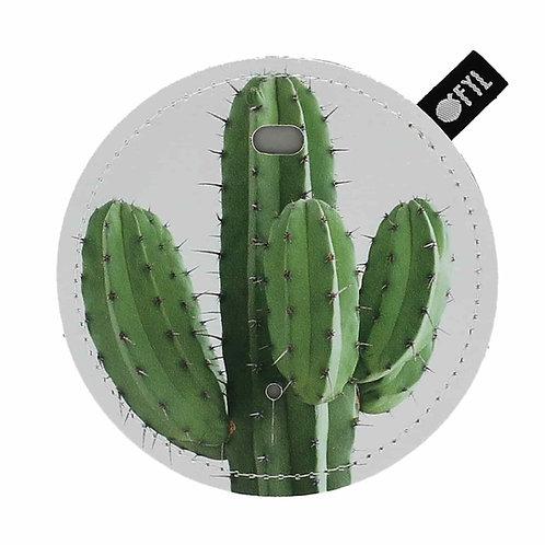 Range-écouteur imprimé Cactus