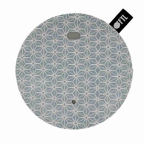 Range-cordon imprimé Hexagones
