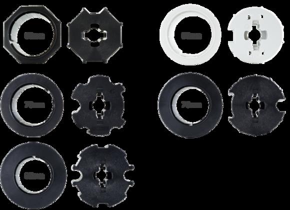 Adapter/Mitnehmer 60mm 8-Kant