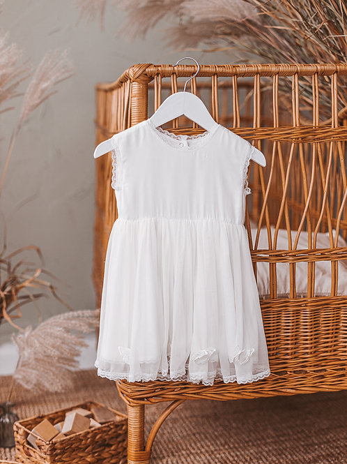 "Silk dress ""Lelija"""