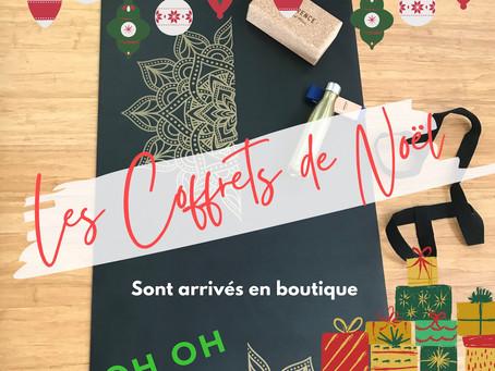 Les Coffrets cadeaux de Noël !