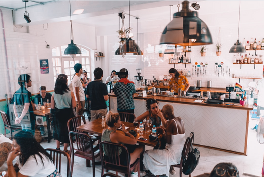 ambiance coffee shop