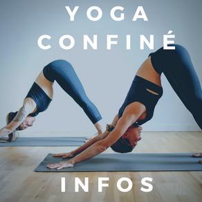 YOGA & CONFINEMENT, les news