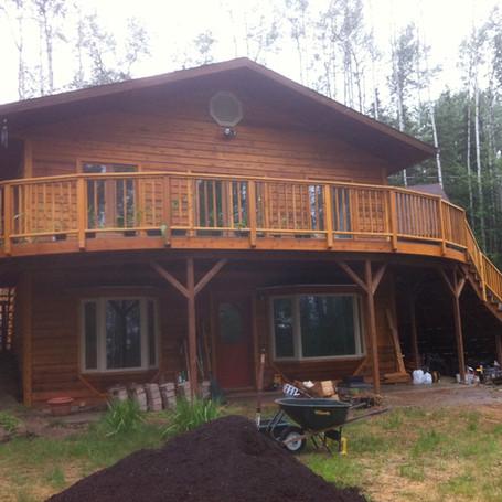Arlene's Deck, Fairbanks