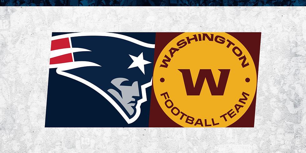 Preseason: New England Patriots vs. Washington Football Team
