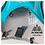 Chaleco AONIJIE Air Wind Tracker 5L Azul + Vejiga TPU AONIJIE 1.5L.