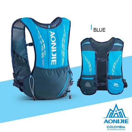 Chaleco de Hidratacion Aonijie Bold 5L COLORS Cordura®. Azul.