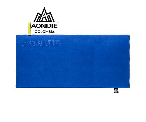 Toalla de Secado Rapido AONIJIE. 76x36cm. Azul.