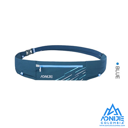 Cinturon Portaobjetos Colors Aonijie. Azul.