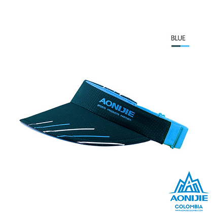 Visera Aonijie COLORS. Azul.