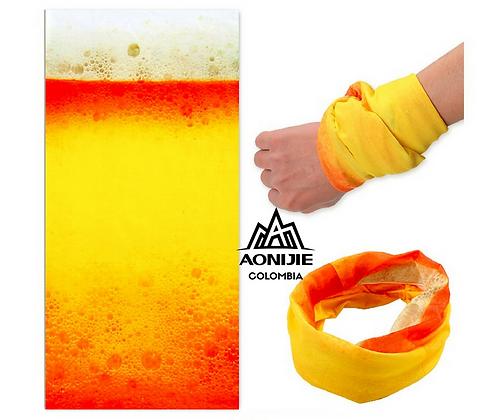 Bandana AONIJIE SPF 5. Beer.