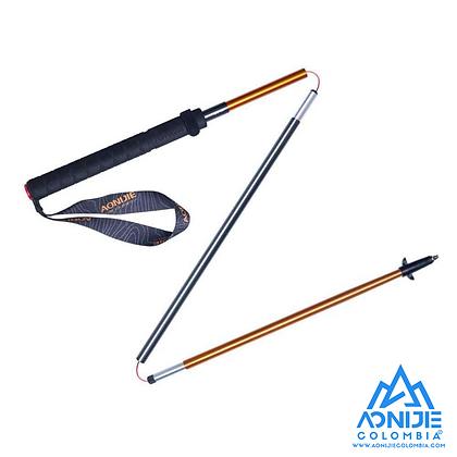 Baston DISTANCE 3 segmentos Aluminio+Carbono Aonijie. 110cm o 120cm.