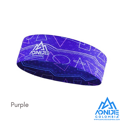 Headband Aonijie Colors. Purpura.