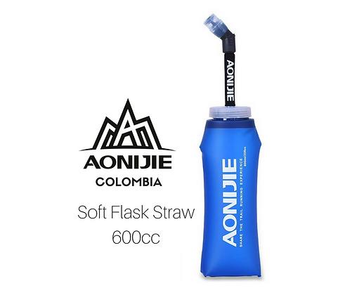Soft Flask Straw AONIJIE 600cc.