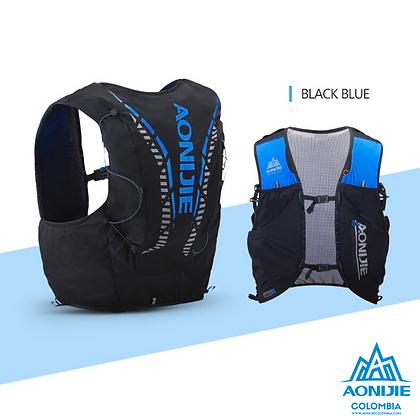 Chaleco de Hidratación Aonijie Moderate Gale 12L. Negro/Azul.