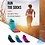 Thumbnail: Finger Socks Aonijie Colors CoolMax® Cordura ®. Trio. LOW Cut. Mujer.