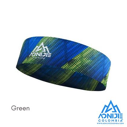 Headband Aonijie Colors. Verde.