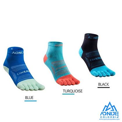 Finger Socks Aonijie Colors CoolMax® Cordura ®. Trio. MID Cut. Hombre.