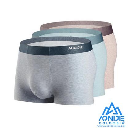 Boxers de Rapido Secado y fibra Cationica Aonijie. Pack X3.
