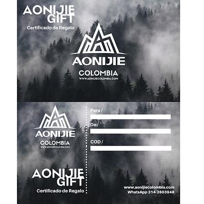 Tarjeta de regalo AonijieGIFT