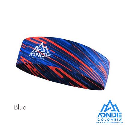 Headband Aonijie Colors. Azul.