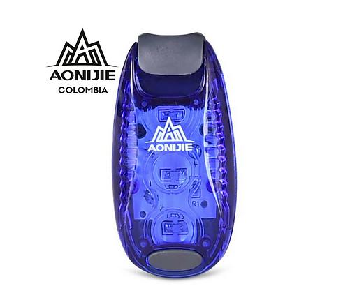 Luz LED de Advertencia y Seguridad AONIJIE. Azul.