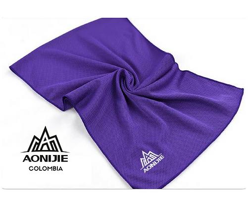 Toalla Refrescante-Helada AONIJIE. Violeta.