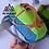 Thumbnail: Cinturon AONIJIE Race + 2 botellas 250cc. Naranja/Verde.