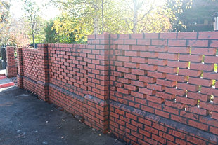 Mg brickworks bricklayer melbourne gallery brick fence piers workwithnaturefo