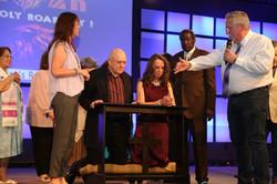 Anointing Ceremony